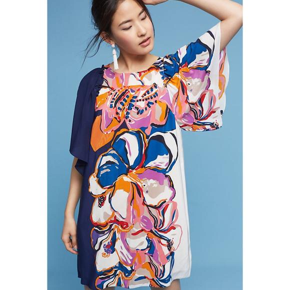 5e1ce5caff08a Anthropologie Dresses | Vero Silk Dress By Maeve | Poshmark